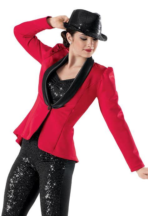 Get Bilsons Hanii Y Jacket From Net A Porter by Weissman 174 Satin Tuxedo Jacket W Sequin Bra Top