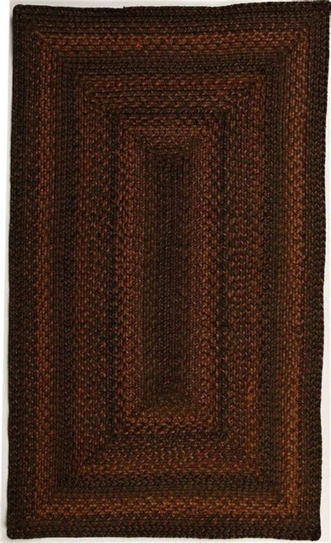 Rectangle Area Rugs braided salem 2 6 quot x6 rectangle black mustard area rug