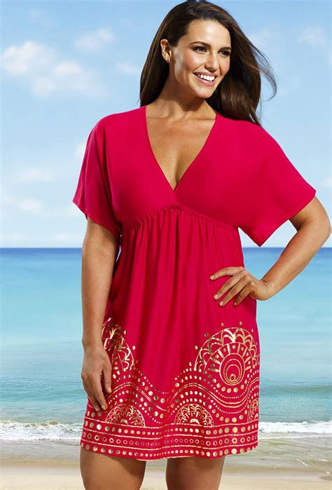 plus size swimsuit cover ups for women 17 best images about plus size swimwear and coverups on