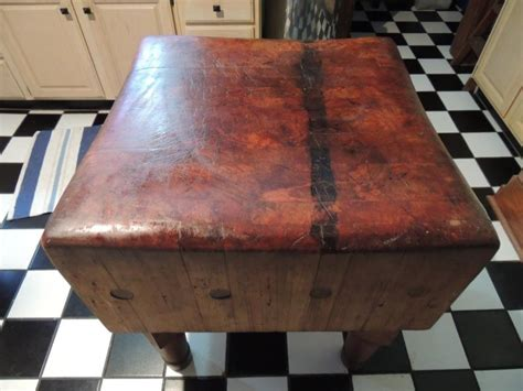 antique butcher block table antique butcher block for sale classifieds