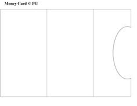 money card template pocket card template i made paper craft templates by pam