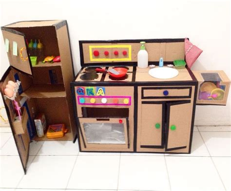 Diy Kitchen Set by 276 Best Cardboard Creations Images On