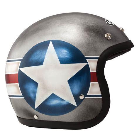 Motorradhelme 50 Jahre by Dmd Vintage B 52 Bomb Kleiner Jethelm Ece 24helmets De