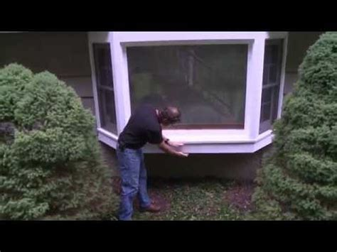 Bay Window Sill Replacement Insulating A Bay Window Sill