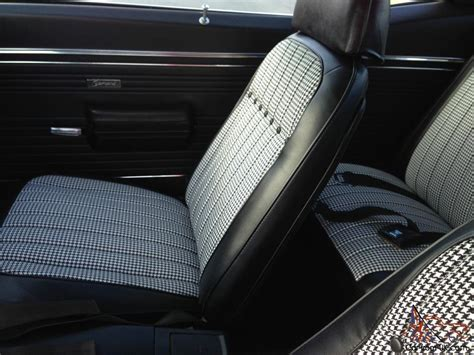 houndstooth interior camaro 1969 camaro houndstooth interior pictures to pin on