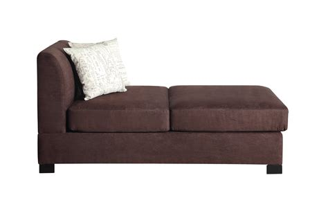 Brown Chaise Lounge Poundex Nia F7979 Brown Fabric Chaise Lounge A Sofa Furniture Outlet Los Angeles Ca