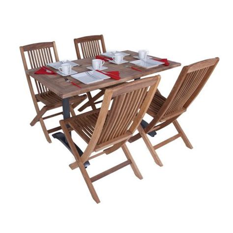 Tesco Bistro Table Buy Teak Bistro Set 21 Outdoor Garden Table And Chair Set From Our All Garden Furniture Range