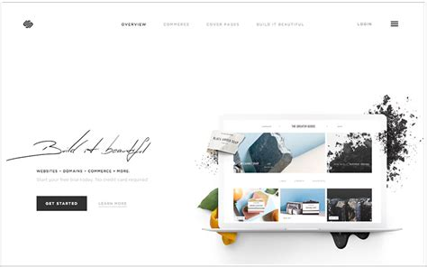 Wix Vs Weebly Vs Squarespace The Best Website Builder 2014 Squarespace Responsive Templates