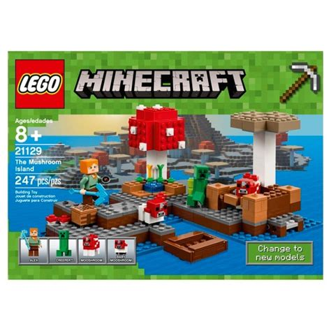 Lego Minecraft 21129 The Island lego 174 minecraft the island 21129 target