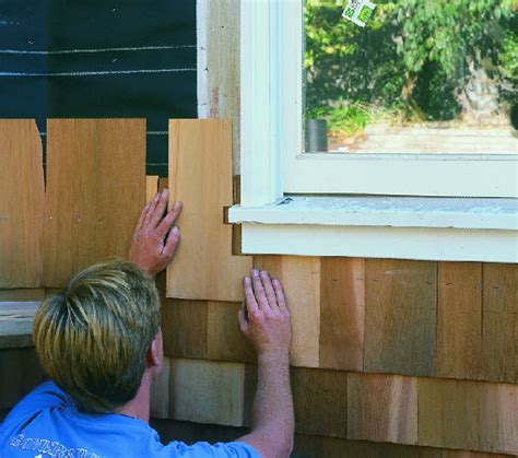 how to shingle a house siding what s the best way to install cedar shingle siding on an old house fine homebuilding