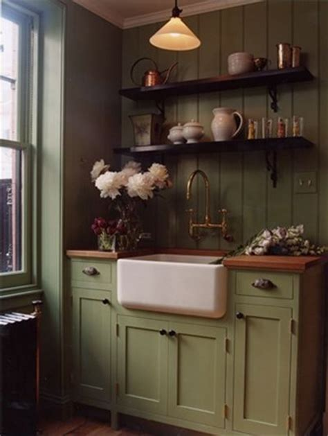 Distressed Green Kitchen Cabinets Seriously In Prim Distressed Green Kitchen Cabinet I Like The Color Might Look