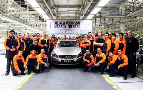 chinese built volvos  reach    report