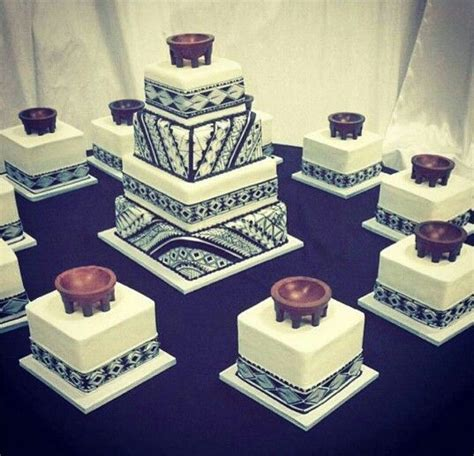 Samoan tribal design wedding cake   polynesian   I'm here