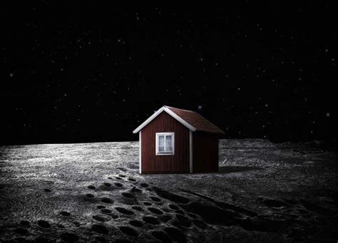 house on the moon swedish artist wants to put a little red house on the moon nbc news