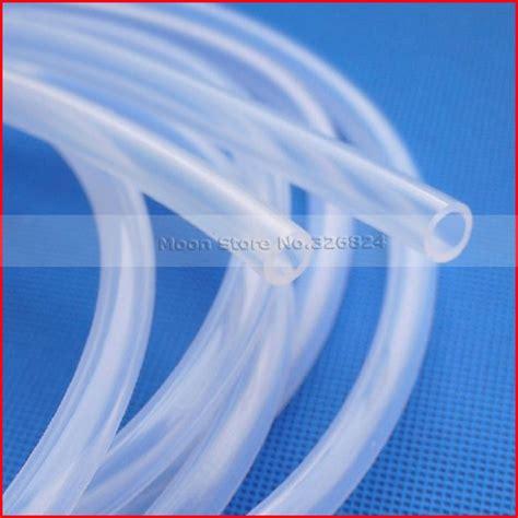 Pipa Alumunium Od 10 5mm Id 6mm X1mtr tubo de silicona transparente al por mayor de alta calidad