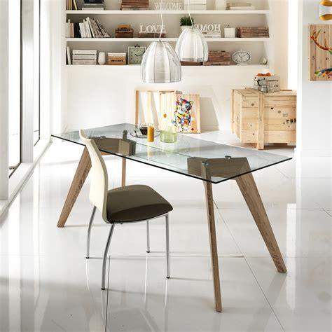 tavoli in legno e vetro tavolo vetro e legno tavolo da cucina pieghevole vistmaremma