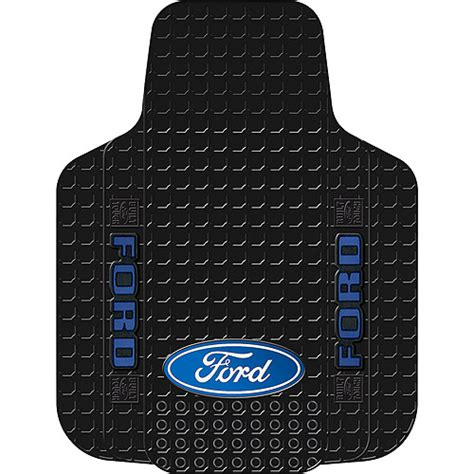 Walmart Auto Floor Mats by Plasticolor Ford Oval Floor Mat Black Interior
