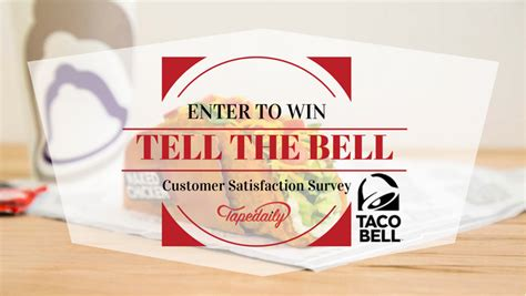 Tell The Bell Sweepstakes - tellthebell win 500 at tellthebell com tell the bell survey