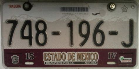 placas del estado de mexico placas de autos de m 233 xico y otras cos 999 as mayo 2010