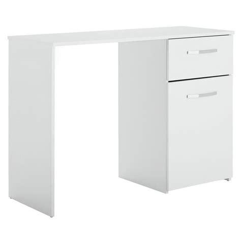 Buy Home Hayward Single Drawer Office Desk White Gloss Buy White Desk