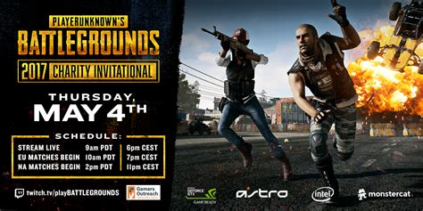 r pubg twitter gamers outreach foundation playerunknown s charity