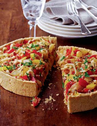 81343 Hello Cut Cheese 100g pancetta fennel and sweet pepper tart photo 1