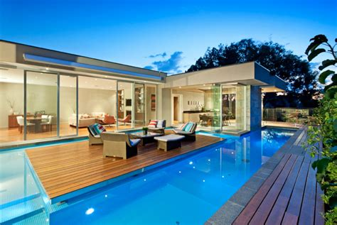 canterbury house canterbury house with a gorgeous pool by canny architects wave avenue