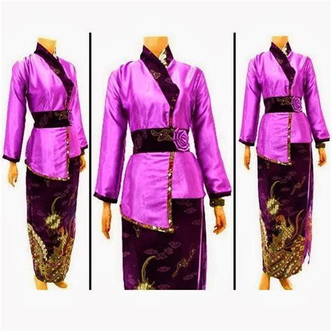 Kebaya Jadi Satin Silk Ukir fesyen baju terkini baju kebaya kimono bajuspot