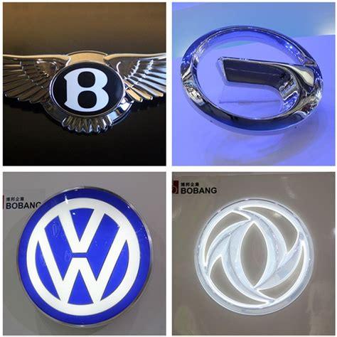 Handmade Car Brands - china 3d custom various material led car brand logo names