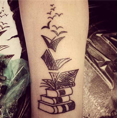tattoo book of designs 71 cool book tattoos that are pretty badass