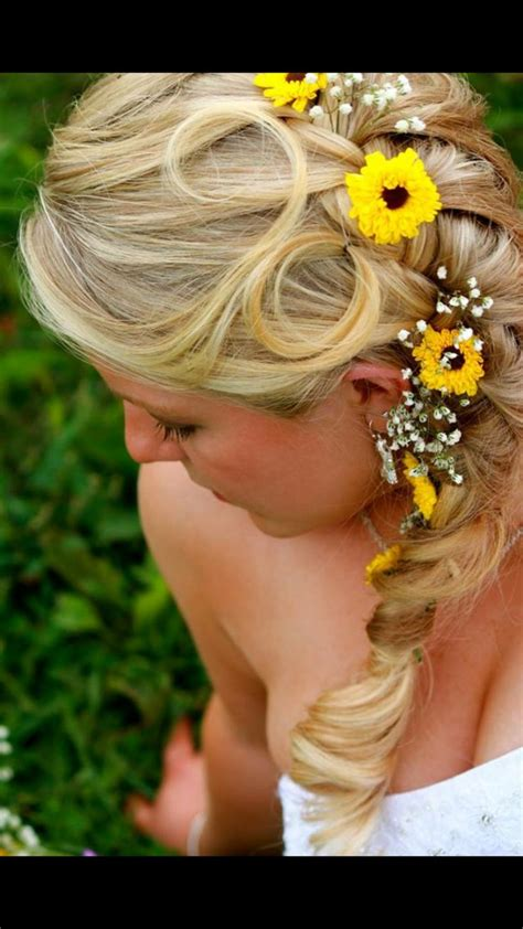 Country Wedding Hairstyles For Hair by Country Wedding Hair Wedding Wedding