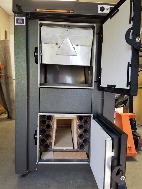 high efficiency indoor wood gasification boiler wood