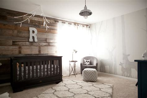 Ryder's Modern Rustic Outdoor Inspired Nursery   Project