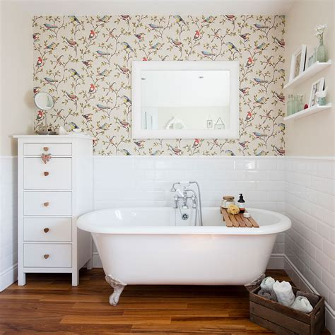 wallpaper in bathroom ideas bathroom wallpaper ideas that will elevate your space to