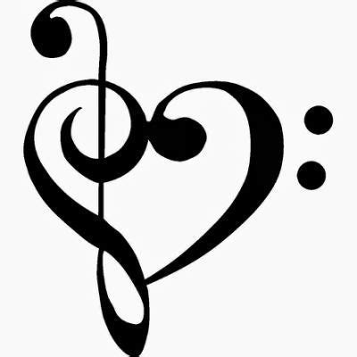 heart music note tattoo note pinteres