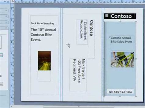 creating brochures  sell  microsoft publisher