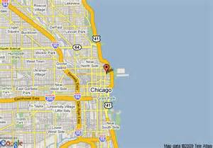 Google Maps Chicago Il by Magnificent Mile Chicago Map Images