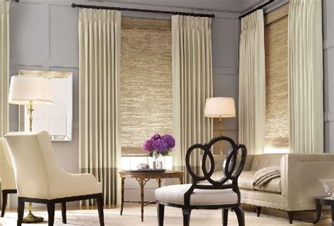 livingroom window treatments contemporary window treatments for living room image 07