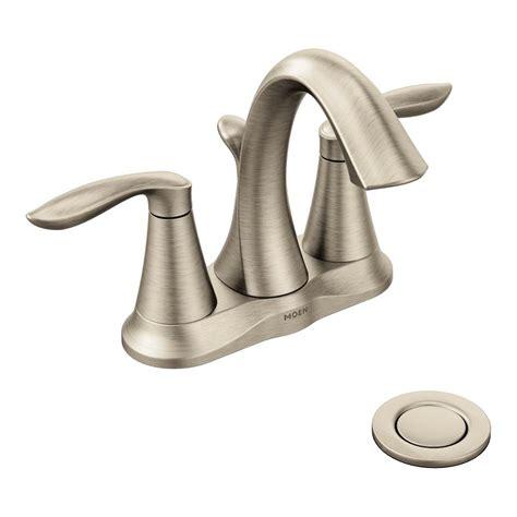 amazon bathroom fixtures amazon com moen eva two handle centerset bathroom faucet