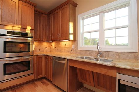 ada kitchen cabinets accessible homes stanton homes