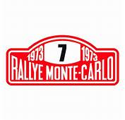 Monte Carlo Flag Decal  Autos Post
