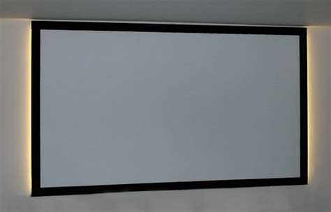 diy projection screen frame building a fixed frame screen psm screens projector