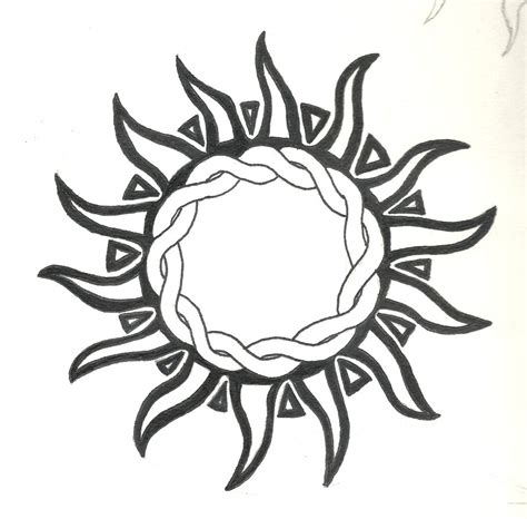 best sun tattoo designs tribal sun design images for tatouage