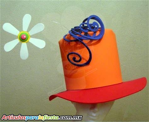 sombrero de frutas de foamy sombreros fiesta foami imagui