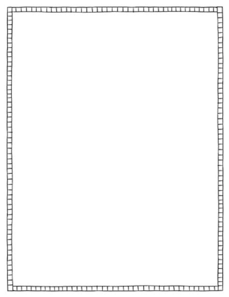 black and white border cards template page border squares black white tim s printables