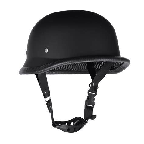 matte black motocross helmet motorcycle german style half helmet motocross matte