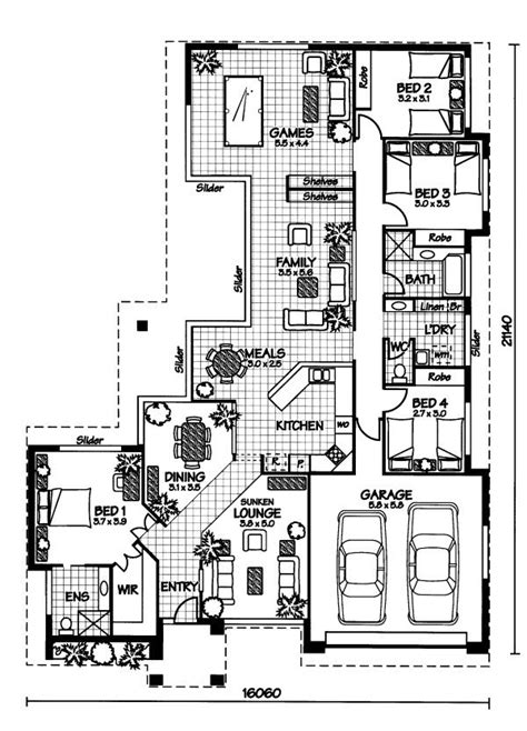 australian home plans floor plans the mornington 171 australian house plans