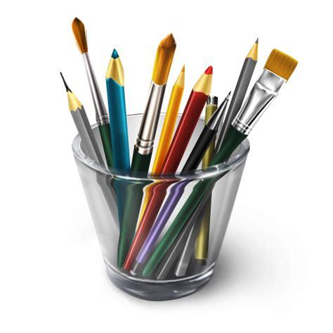 5 Drawing Tools by 航海主题桌面图标下载 站长素材