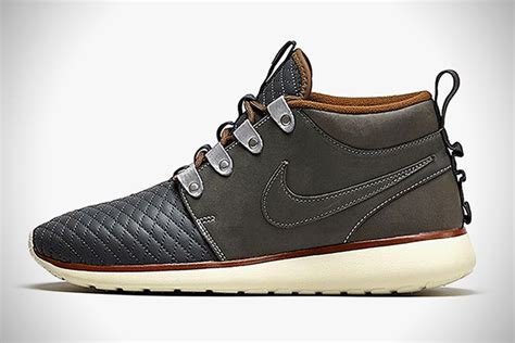 nike roshe run sneakerboots premium leather pack hiconsumption