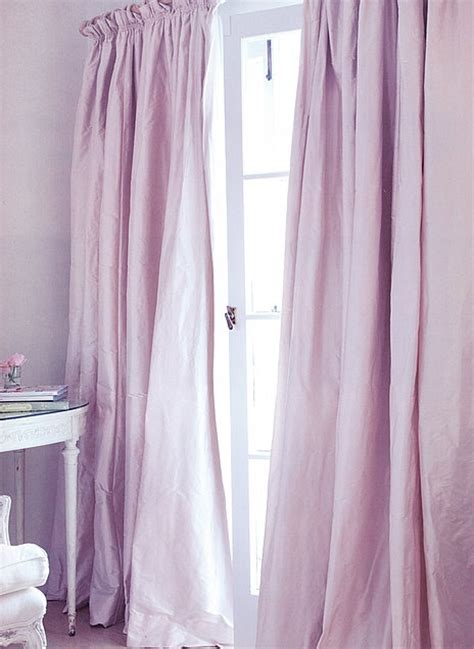 lilac silk curtains beautiful drape style and fabric excellent feng shui for